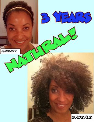Rene's Massive Hair Growth- 3 Year Anniversary!