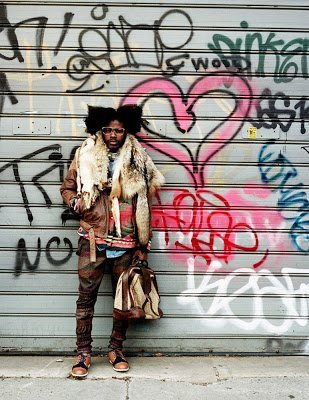 Jesse Boykins on His Natural Hair and Music
