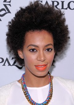 Solange Knowles Shares her Natural Hair Secrets!
