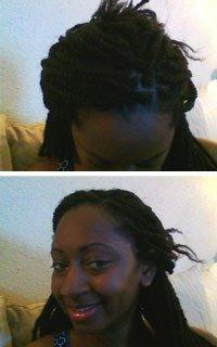 Styling Kinky Twists- Hair Style Ideas