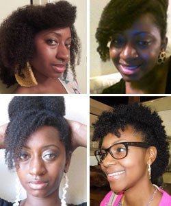 How to Wear Curly Bangs