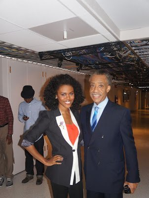 Nik on TV- MSNBC's Melissa Harris-Perry! (PICS)