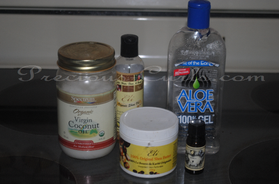 Shea Butter Sealant and Styler- A Recipe!