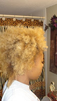 Golden Natural Nappy on Her Healthy Lifestyle