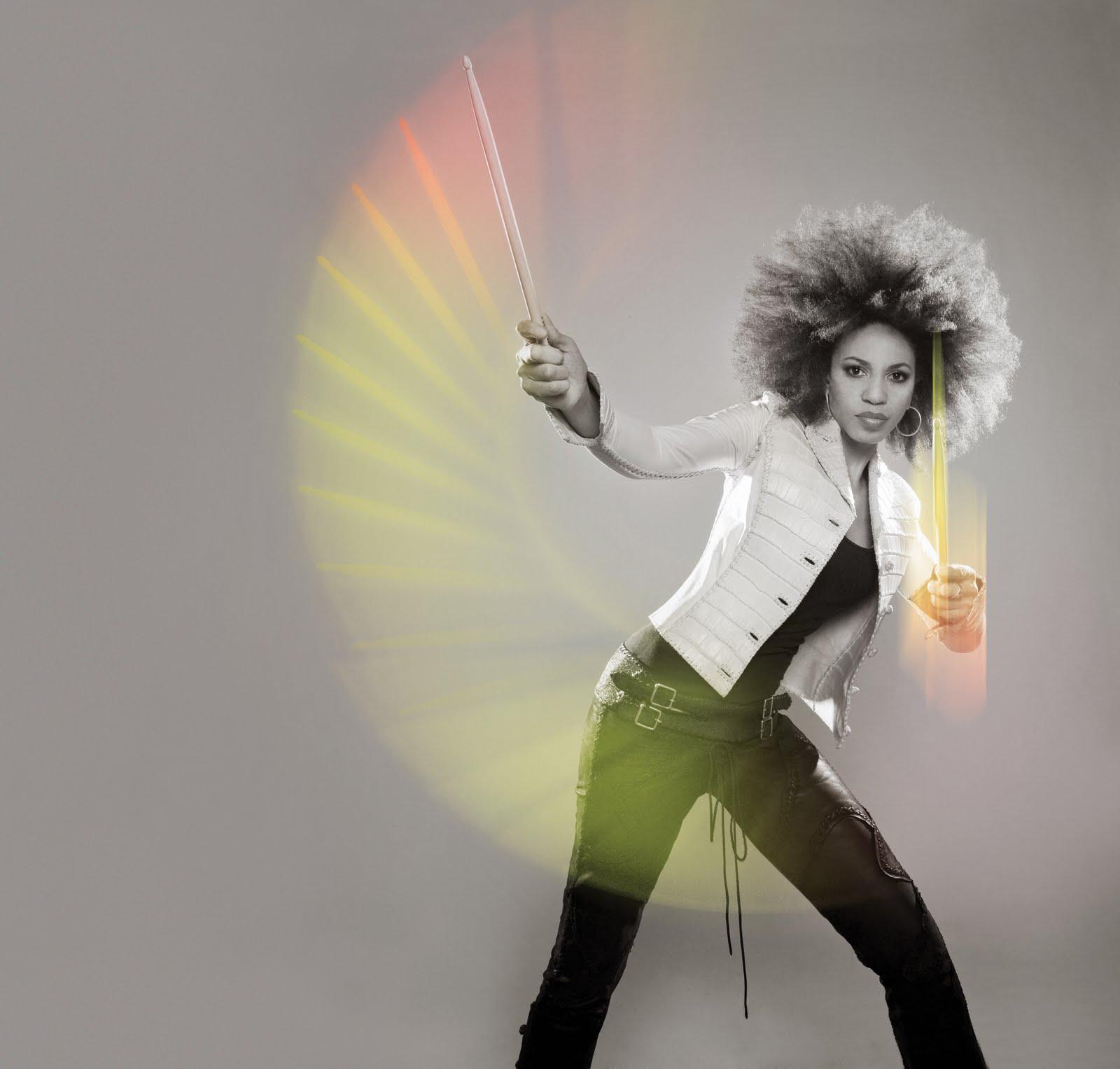 Cindy Blackman- Natural Hair Celebrity