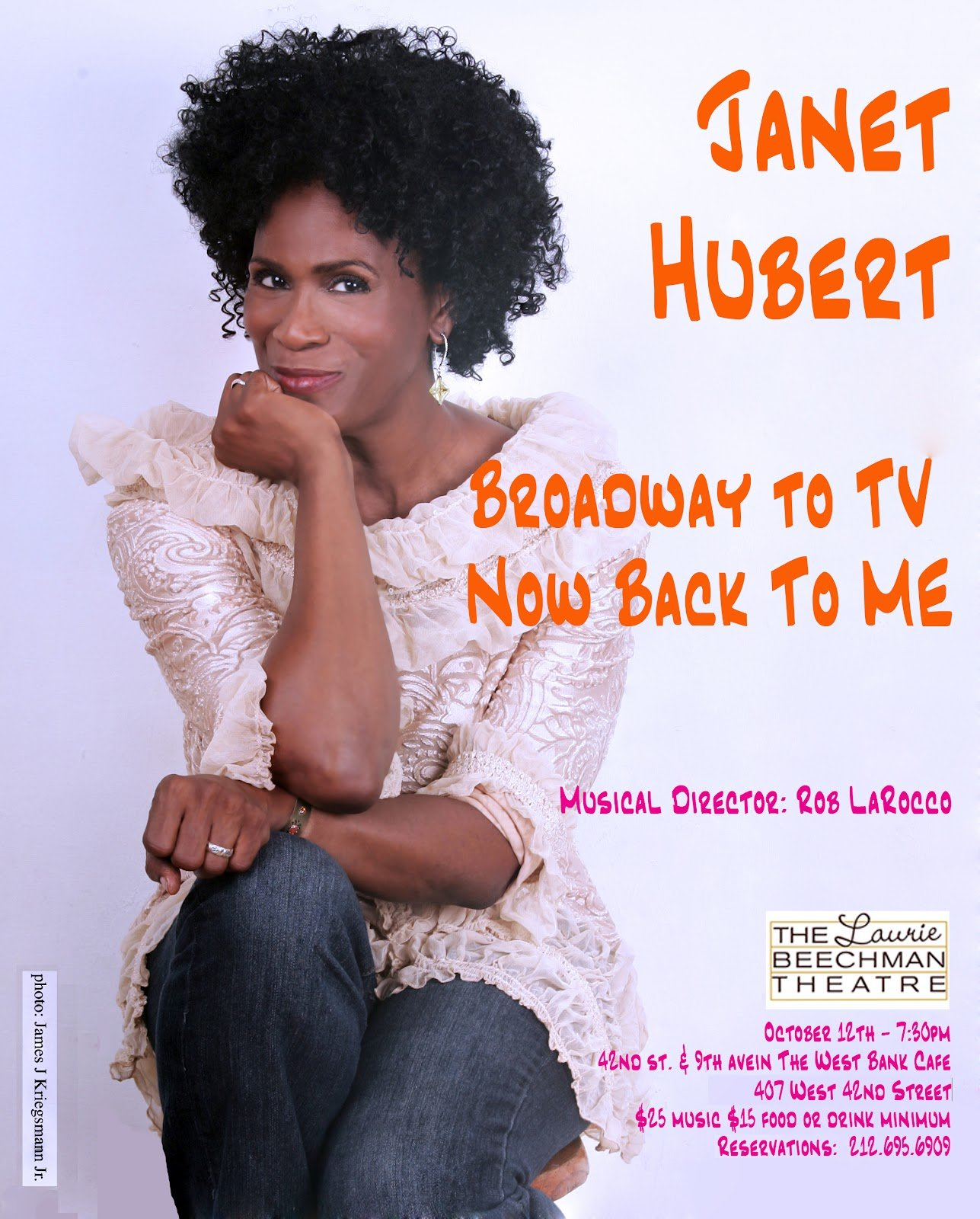 Broadway to TV, Now Back to Me!