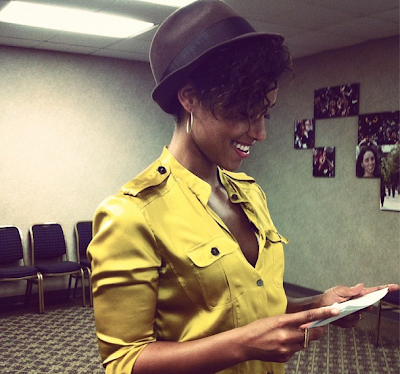 Alicia Keys 'Big Chopped'!