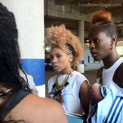 Lil' Mama Talks Natural Hair, Haters & More