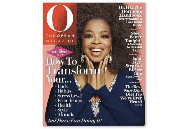 Oprah's Natural Hair on 'O Magazine' Cover!