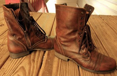 Wash & Go's and Combat Boots
