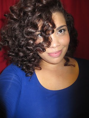 Fluffy, Soft Waves- Natural Hair Styles