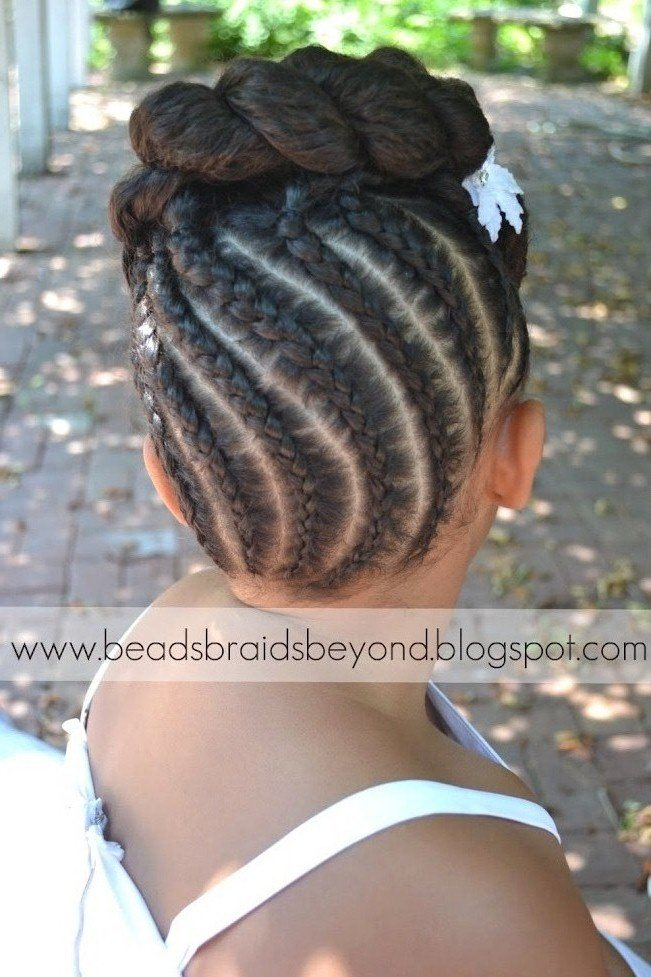 Beautiful Natural Hair Updo- Styling Tutorial
