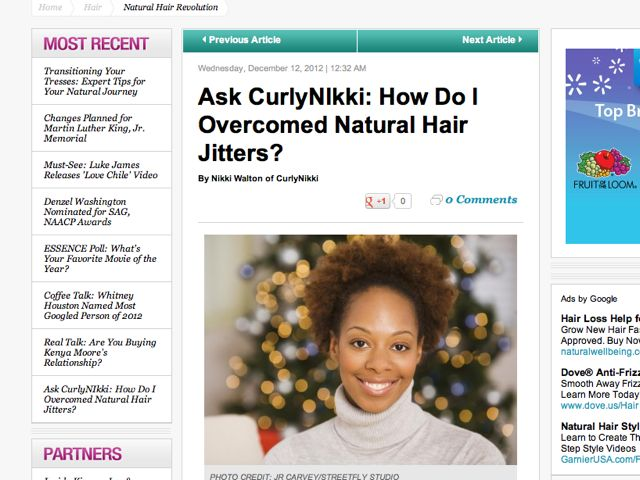 Your First Holiday Season With Natural Hair