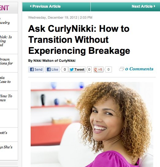 How to Transition Without Experiencing Breakage