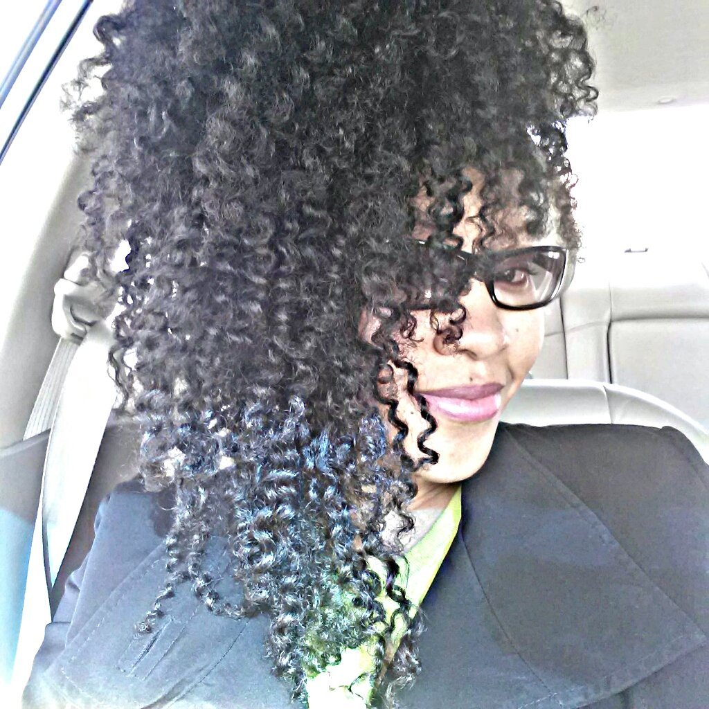 Ebony is Naturally Glamorous!
