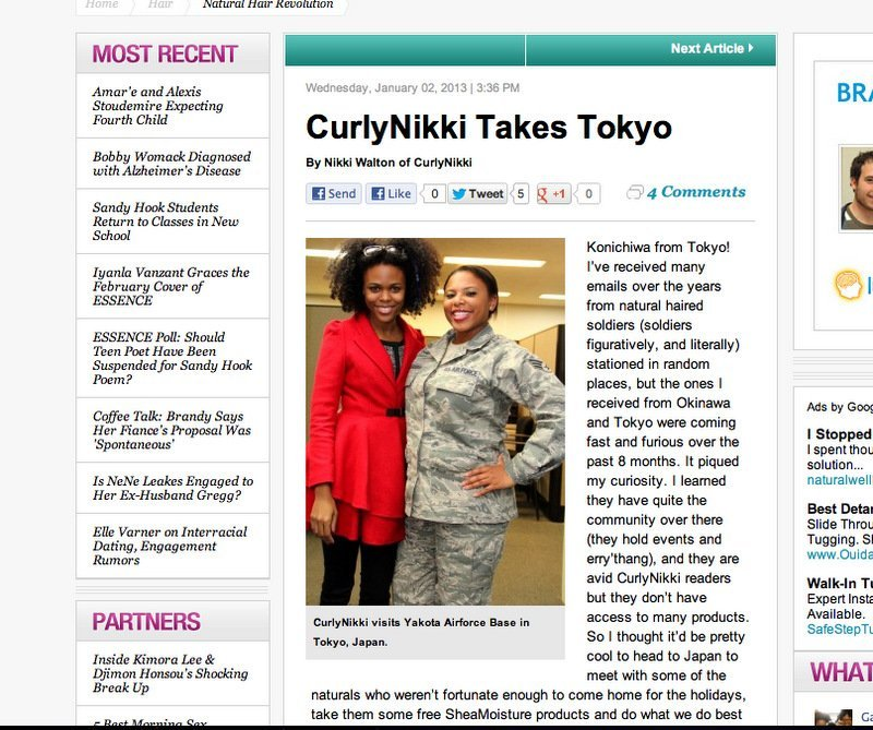 Today on Essence: CurlyNikki Takes Tokyo