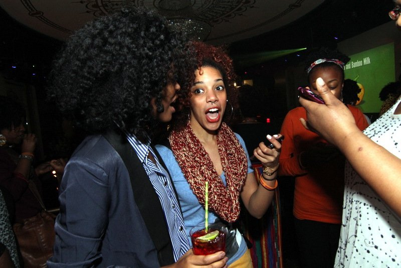 NYC Curlies, Turnt Up! Dark & Lovely Curl Power!