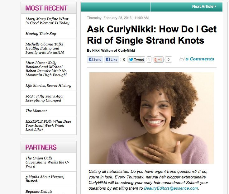 How Do I Get Rid of Single Strand Knots?