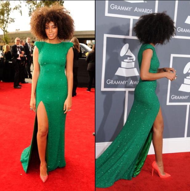 Solange Slays at 2013 Grammy Awards