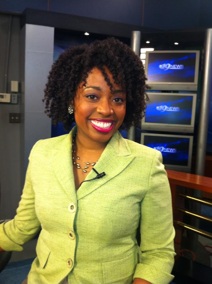 News Anchor, Stephanie Satchell, Goes Natural!