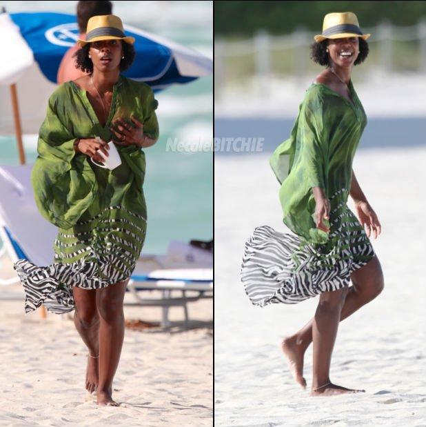 Kelly Rowland Rocks Her Natural Hair!