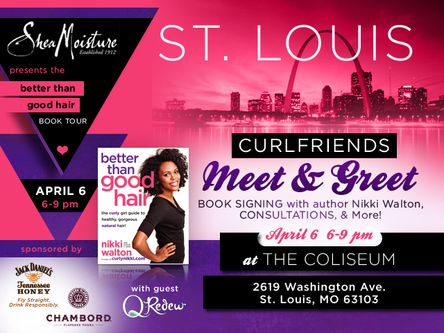 St. Louis Curlfriends Turn Up!- Book Signing Event!