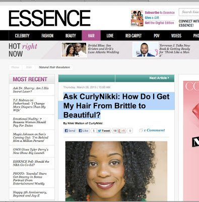 Ask CurlyNikki: How Do I Get My Hair From Brittle to Beautiful?