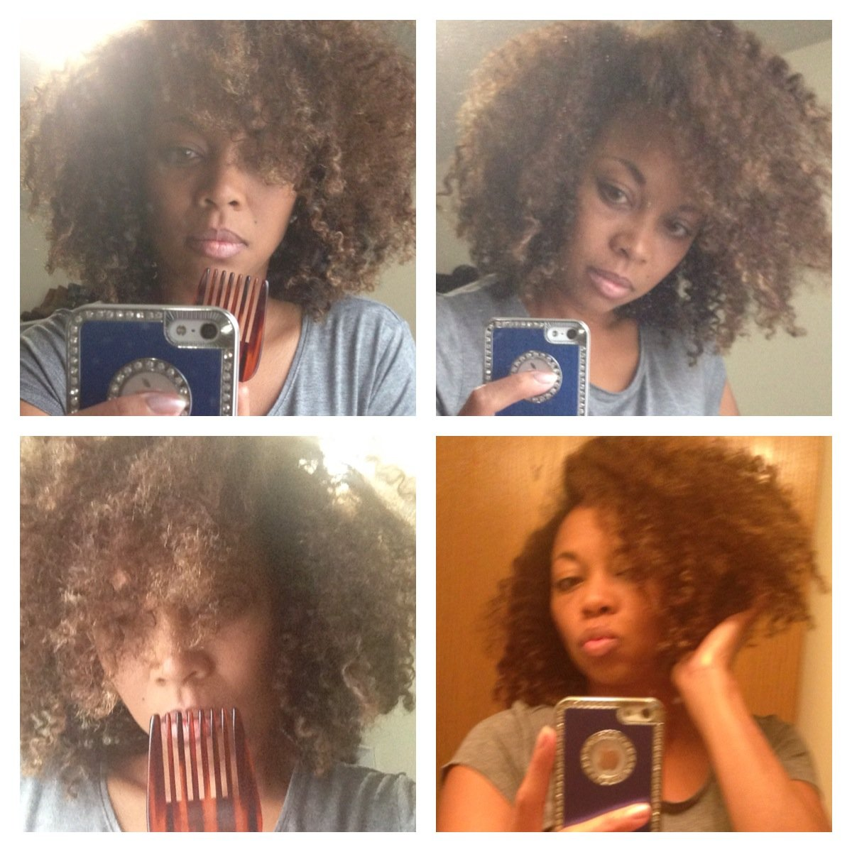 The Afro Pick – Creating Volume in Natural Hair