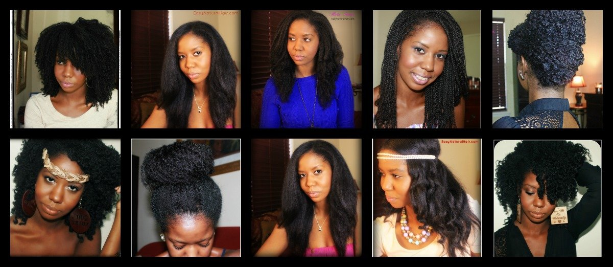 Consistency and Protective Styles- Natural Hair Care