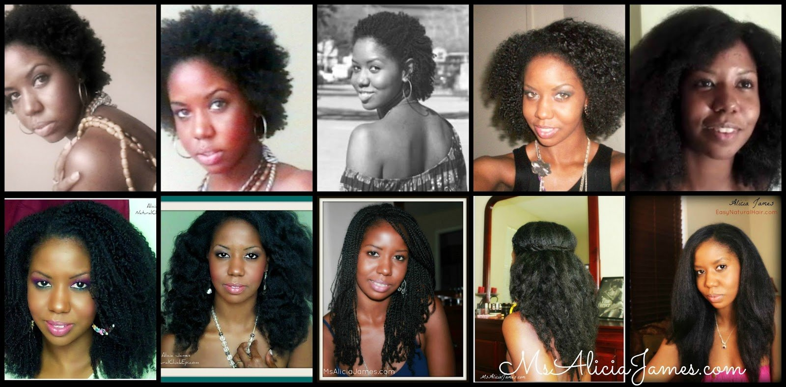 Natural Hair Journey- From Big Chop to Waist Length