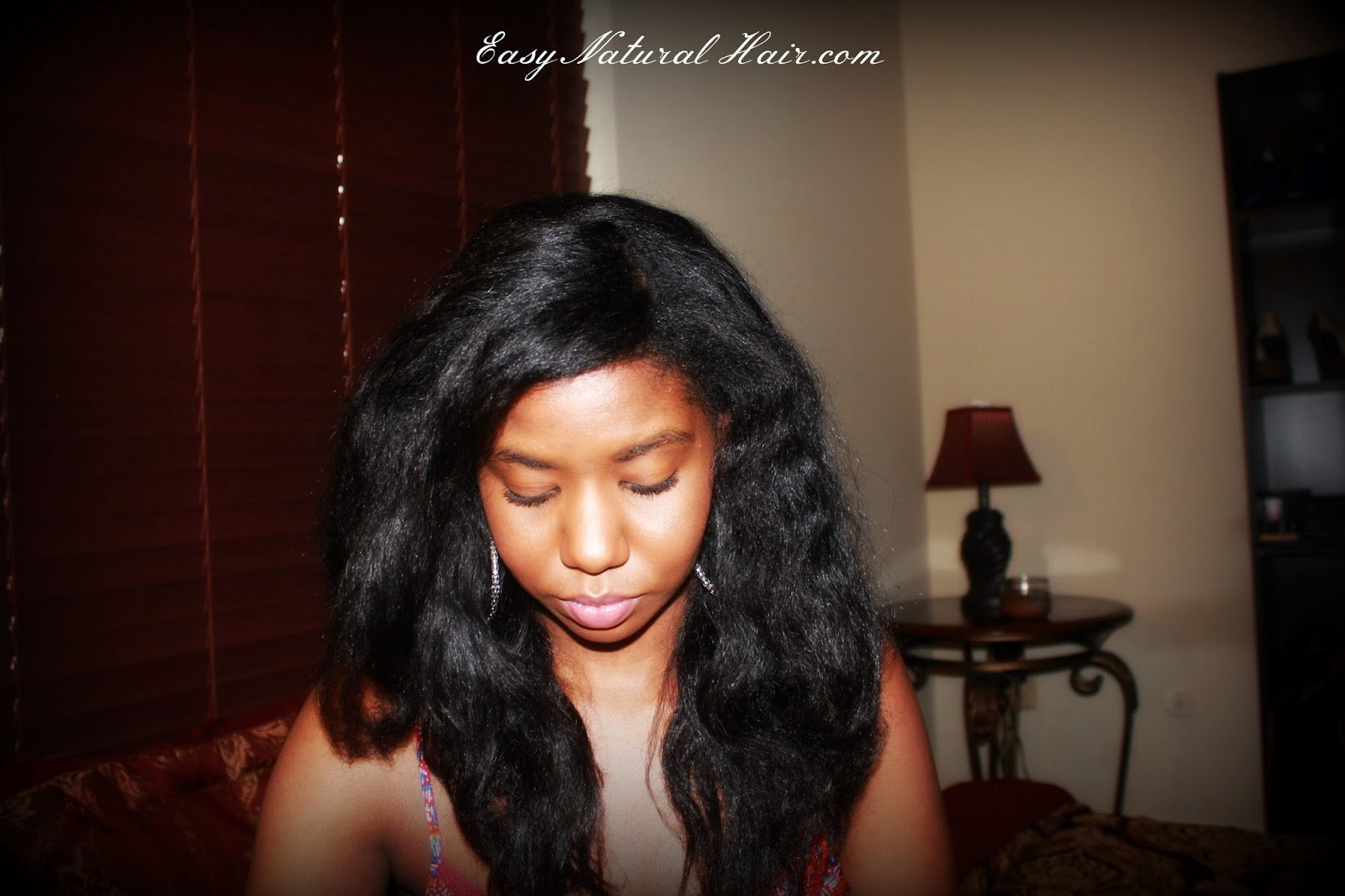 Moisturizing Heat Stretched Hair- Natural Hair Care
