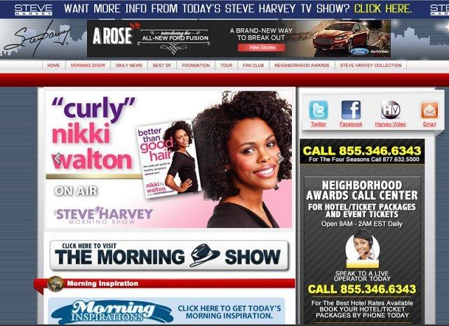 CN on Steve Harvey Morning Show: Summer Hair