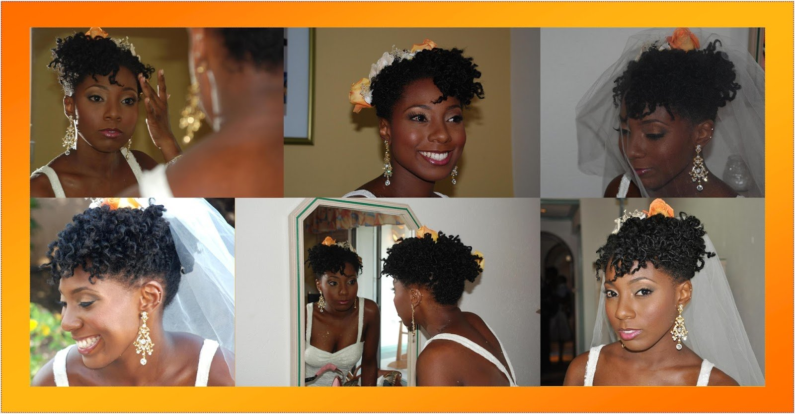 A Natural Hair Wedding Story: Alicia B.