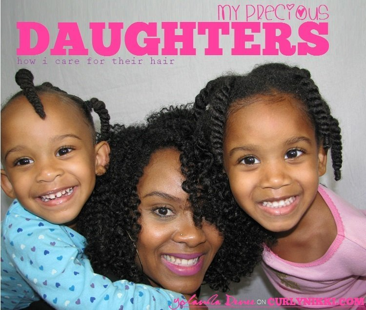 Caring for Your Daughter's Natural Hair