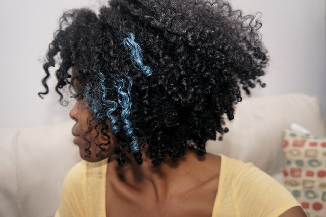 Dye Your Natural Hair- Extra Temporary Hair Color