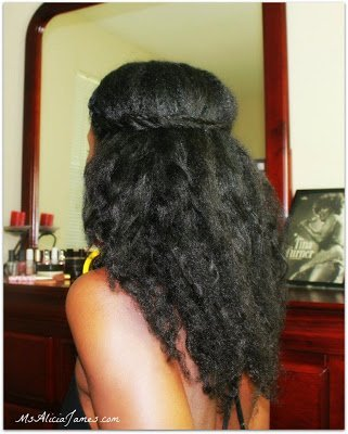 Efficient Air Drying for Natural Hair