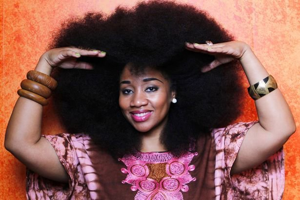 Aevin Dugas Shares Her Natural Hair Secrets- World's Largest Afro!