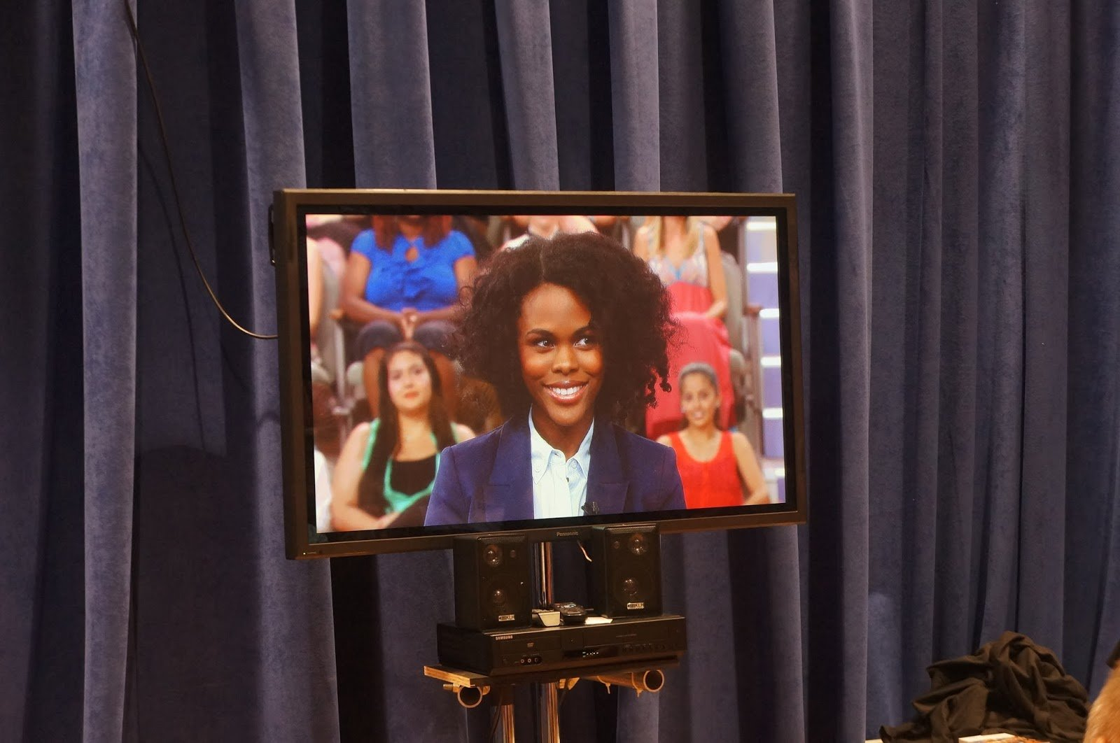 CurlyNikki Co-Hosts The Dr. Oz Show!