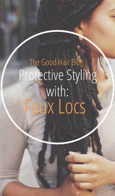 Loc Extensions- Protective Natural Hair Styles