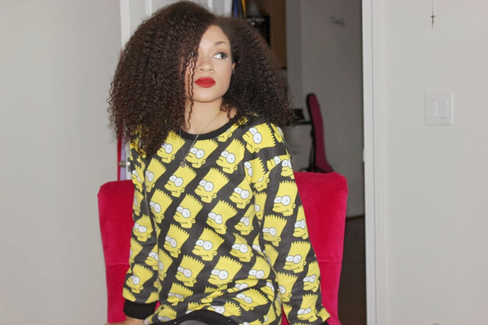 Elle 'aka' DenimPixie 'bka' Quest For The Perfect Curl, is Naturally Glam!