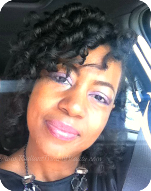 Tips for Smooth, Shiny CurlFormer Sets- Natural Hair Styles