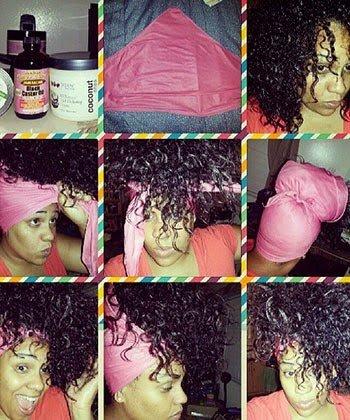 3 Ways Smart Transitioners Sleep- Nighttime Hair Protection