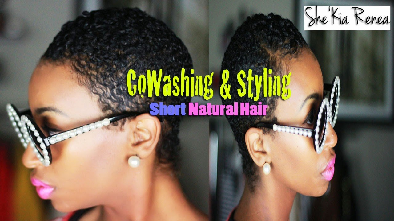 Co-Washing and Styling Your Natural Hair TWA