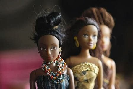 """""""In Nigeria, Queens of Africa steal a march on Barbie"""""""