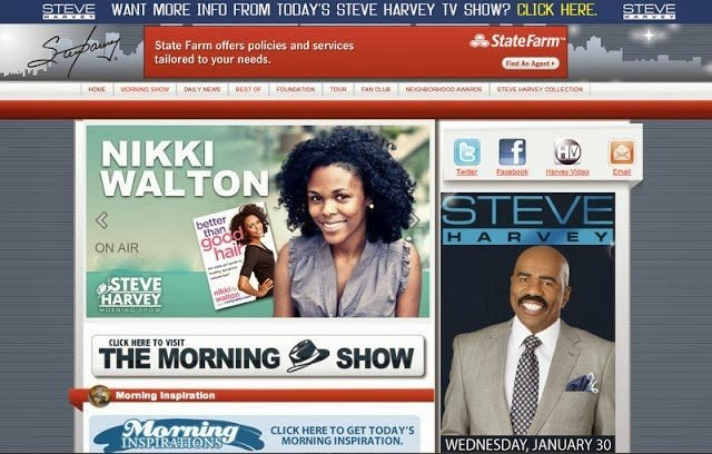 Steve Harvey Morning Show- Transitioning from Winter to Spring