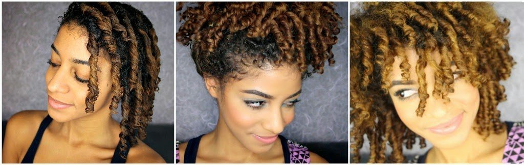 Even More Finger Coils!- Natural Hair Style Tutorial
