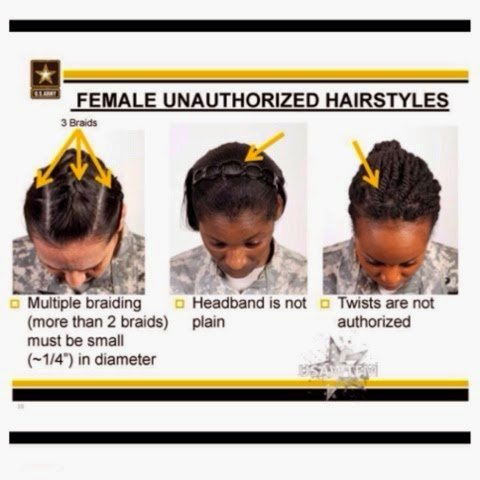 Are the Proposed Army Changes (AR 607-1) Discriminatory to Women with Natural Hair?