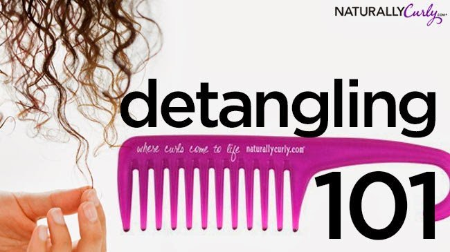 The Ouch-Free Guide to Detangling Natural Hair