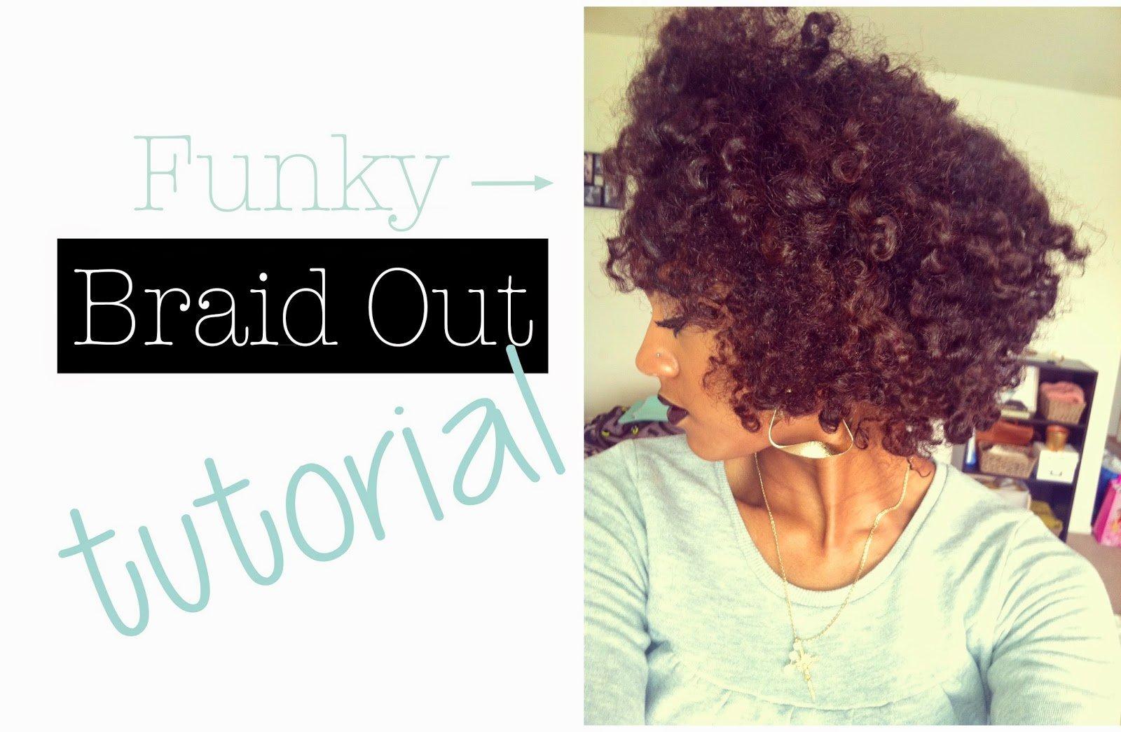 The Fluffy Braid-n-Curl- Natural Hair Steez