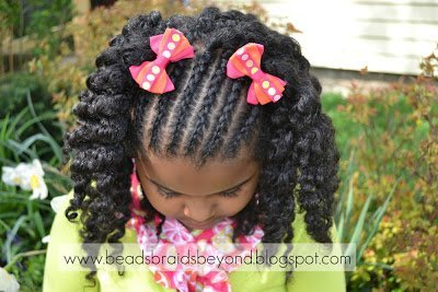 Easter Hairstyles for Little Girls With Natural Hair